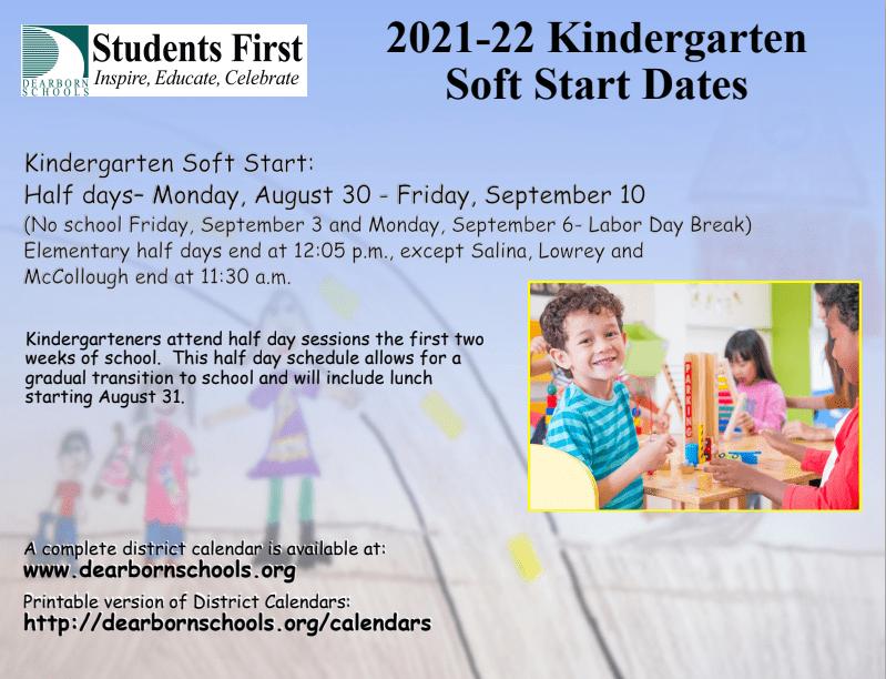 Kindergarten Soft Start