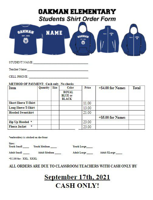 Oakman Shirt Sale!