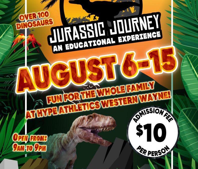 Jurassic Journey at HYPE Wayne